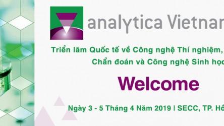 Analytica Vietnam - Sự kiện dẫn đầu trong ngành công nghệ thí nghiệm, phân tích, công nghệ sinh học và chẩn đoán