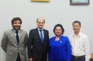 Thường trực FFA tiếp và làm việc với Đại sứ Cộng hòa Argentina tại Việt Nam