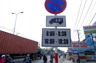 Doanh nghiệp bị thiệt hại vì lệnh cấm chở hàng giờ cao điểm